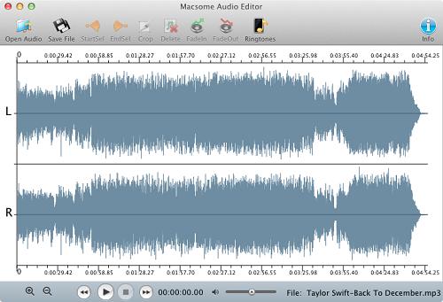 free audio editing software mac os x