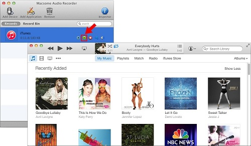 Record iTunes Audios