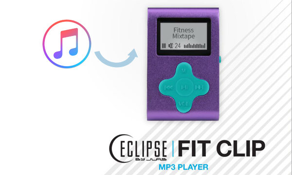 How to play Apple Music on Eclipse Fit Clip Plus MP3 player