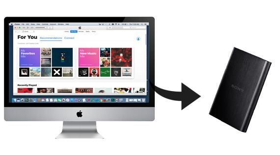 How to Save Apple Music to External Dard Drive | Macsome com