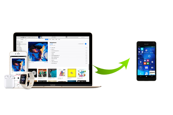 Easy Guide to Play Apple Music on Windows Phone | Macsome inc