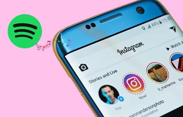 Add Spotify Music to Instagram Stories