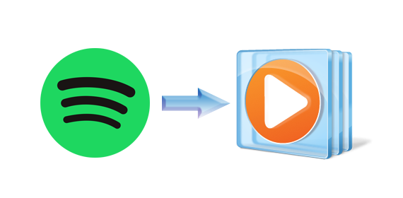 How to load Spotify playlist to Windows Media Player